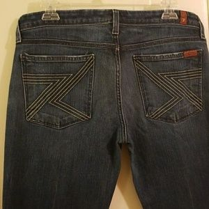"7 for All Mankind ""Flynt"" jeans, size 32"
